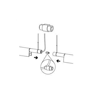 Compendium - Accessorio per giunzione meccanica 180°