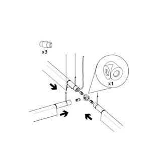 Compendium - Kit accessori per giunzione meccanica T o 90°