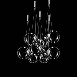 Random - 5 Lights Round Cristallo Trasparente