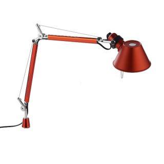 Tolomeo Micro Tavolo Corpo lampada rosso anodizzato